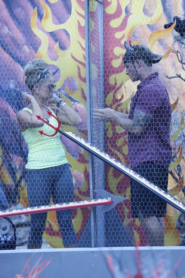 Nicole and Caleb work together