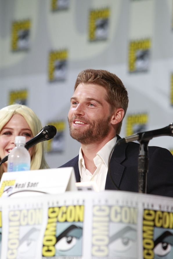 Mike Vogel at Comic-Con 2014