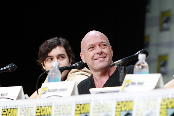 Alex Koch and Dean Norris