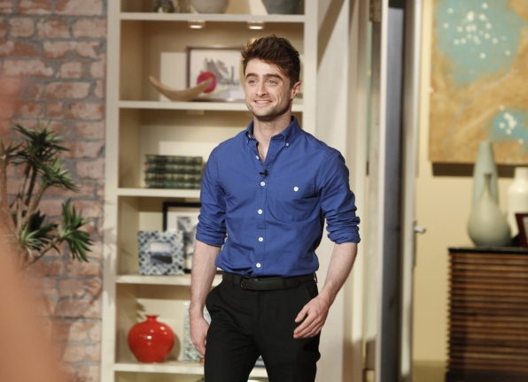 "Daniel Radcliffe, star of CBS Films' ""What If"""