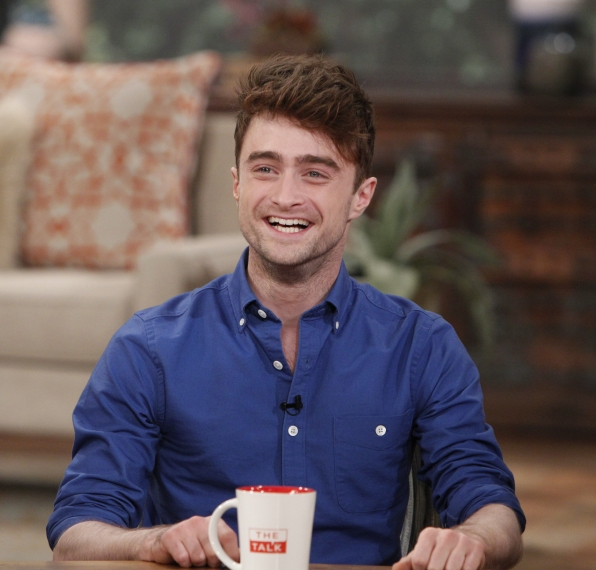 "Daniel Radcliffe on ""The Talk"""