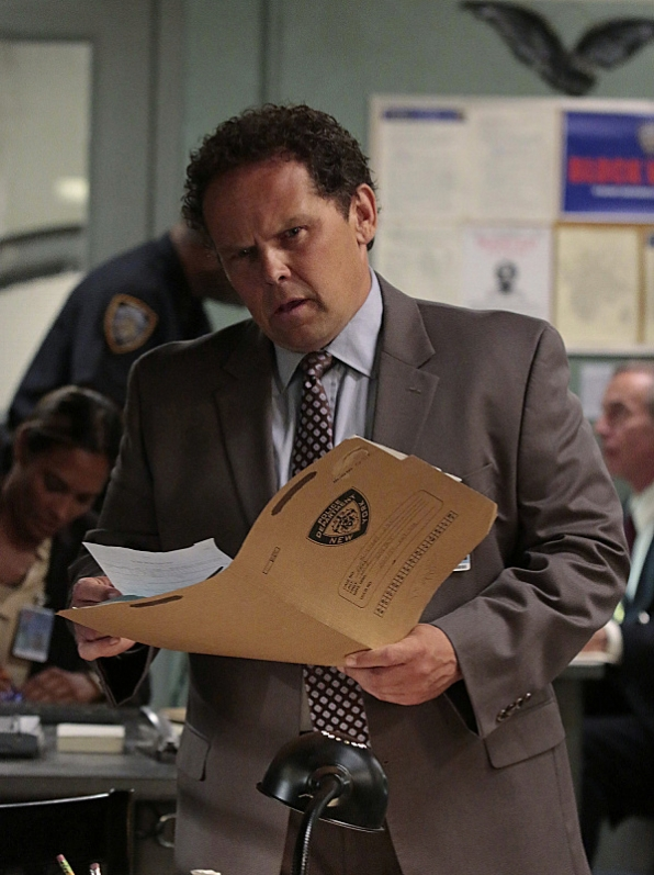 8. Fusco was a little thrown off by his new partner assignment.