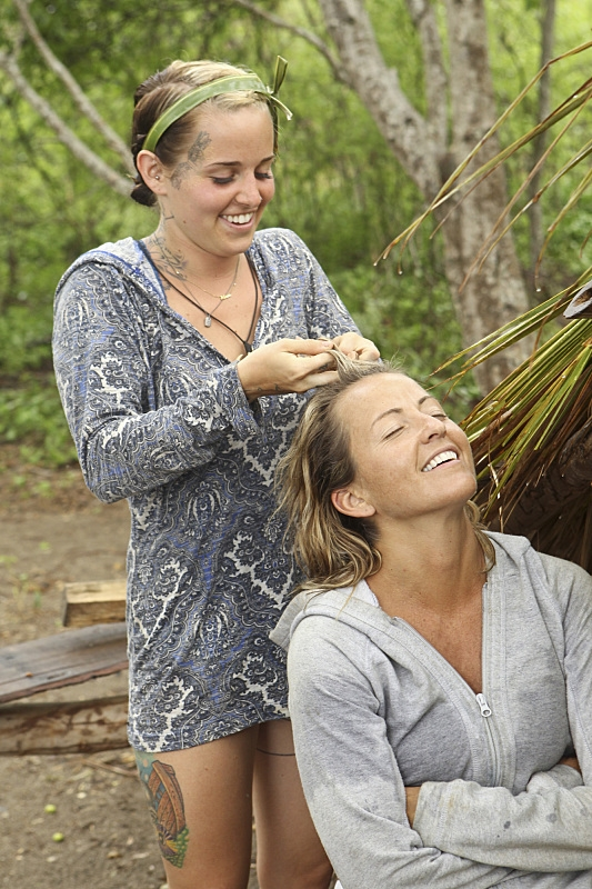 Hairstyles of Survivor