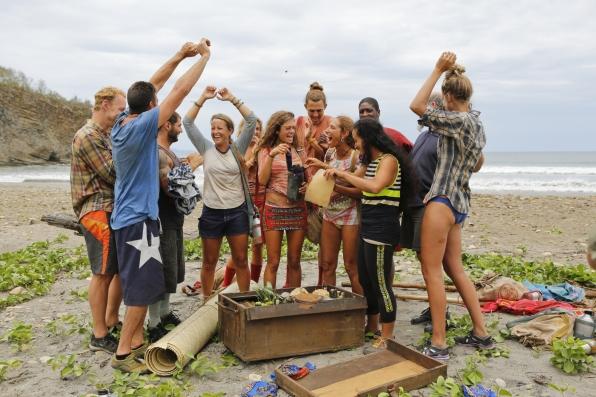 It's a Survivor party!