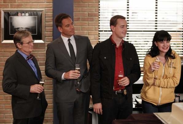 David McCallum, Michael Weatherly, Sean Murray and Pauley Perrette