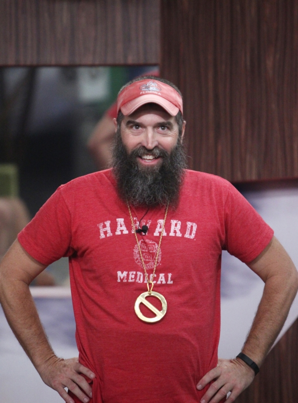 Donny saves himself