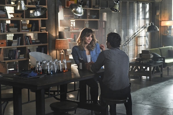 Walter O'Brien and Paige Dineen (Scorpion)