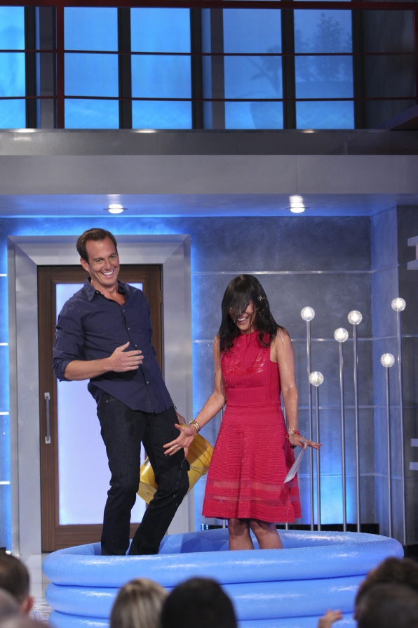 Will Arnett helps Julie complete the ALS Ice Bucket Challenge