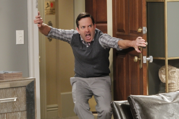 Q: Is there a good amount of improv between the <i>Odd Couple</i> cast? I'm sure your writers are great, but I can only imagine some fun things are said when you and Matthew get together.