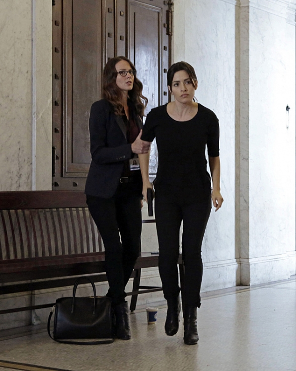"Shaw and Root in ""Prophets"" S4E5"