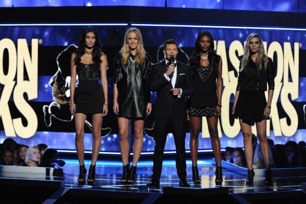 Ryan Seacrest hosts Fashion Rocks