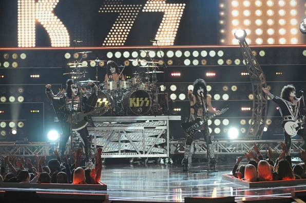 "5. KISS closed the show with their party anthem ""Rock and Roll All Nite."""