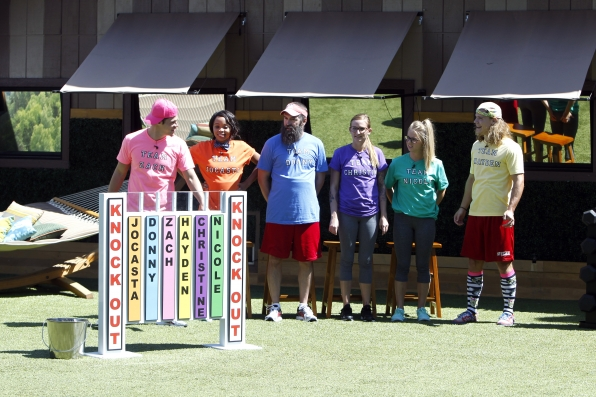 The jurors return to the Big Brother house to compete in the Luxury Competition