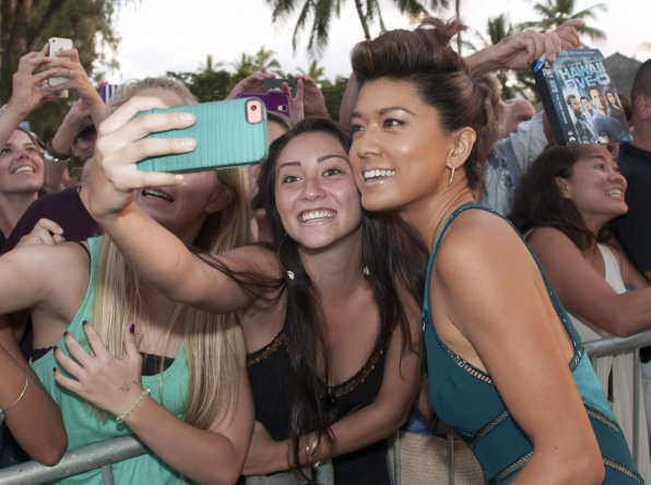 Grace Park at the Season 5 Sunset on the Beach Premiere