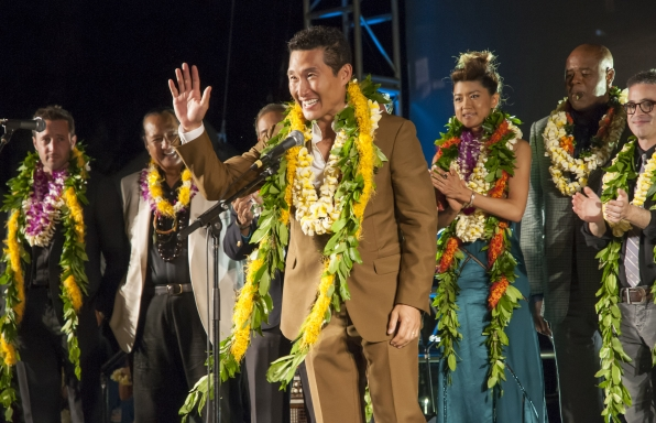Daniel Dae Kim at the Season 5 Sunset on the Beach Premiere