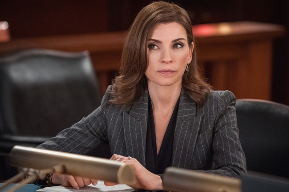 "Alicia Florrick in ""Old Spice"" S6E6"