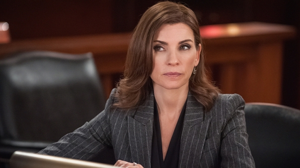 Getting justice for your stolen work yogurt? Alicia Florrick is on the case.