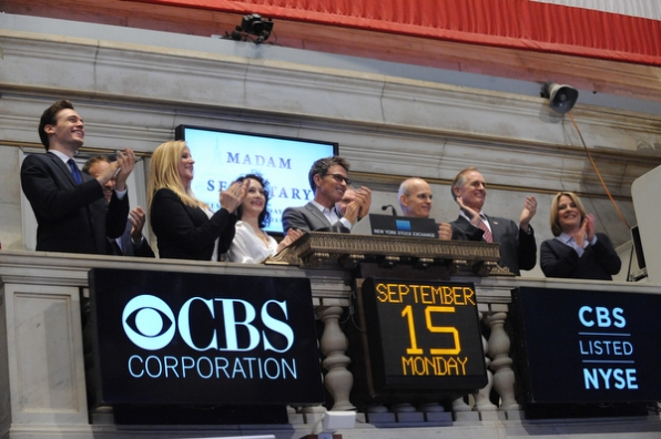 Madam Secretary Closes the Bell at the NYSE