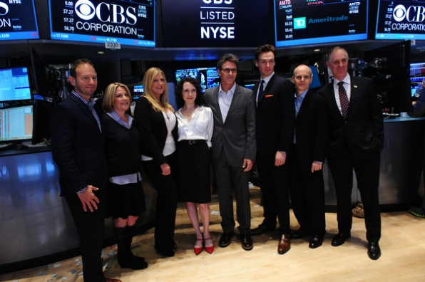Madam Secretary Group Photo at the NYSE