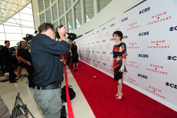 Bebe Neuwirth on the Red Carpet