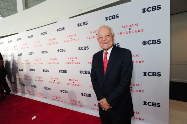 Bob Schieffer on the Red Carpet