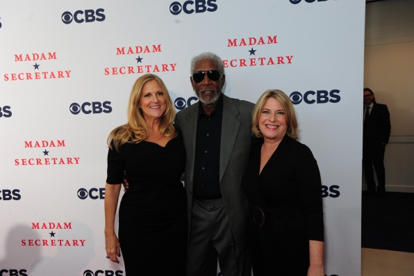 Executive Producers Lori McCreary, Morgan Freeman and Barbara Hall