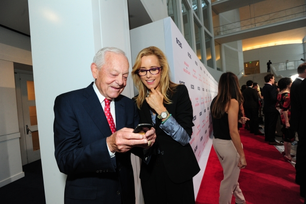Bob Schieffer and Téa Leoni