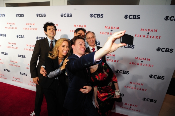Red Carpet Cast Selfie