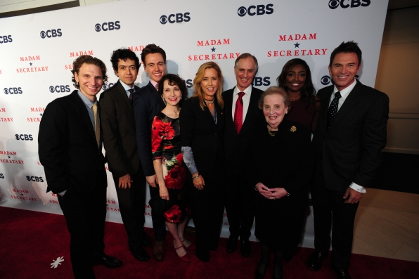 The Madam Secretary Cast on the Red Carpet with Madeleine Albright