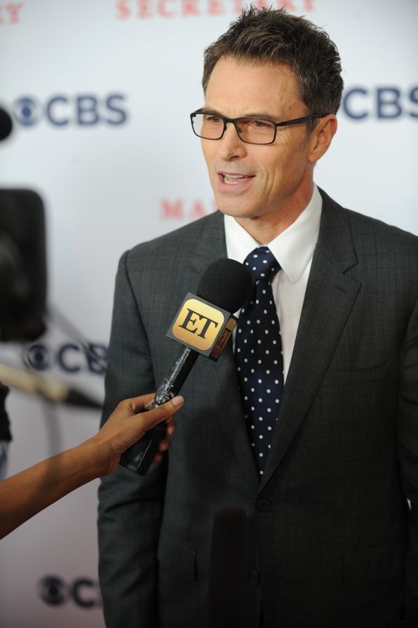 Tim Daly Talks to Press