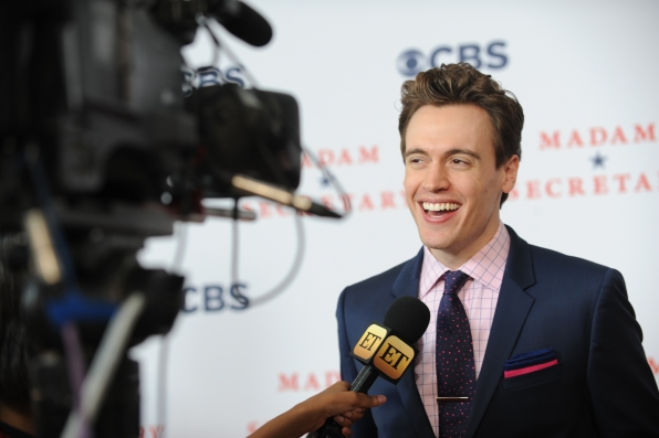 Erich Bergen Talks to Press