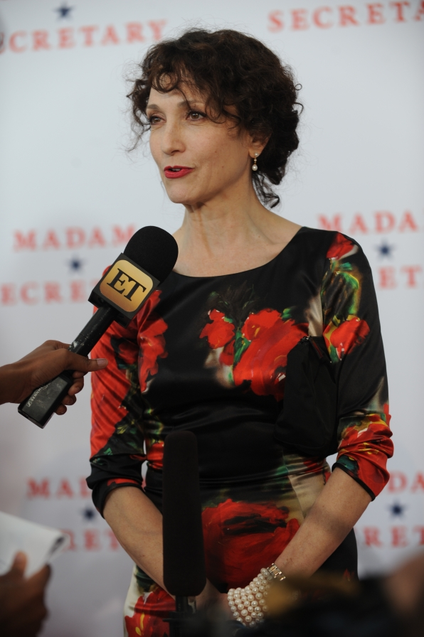 Bebe Neuwirth Talks to Press