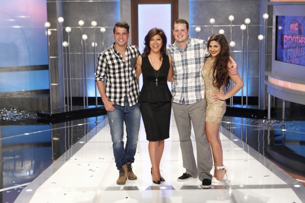 Julie with the final three