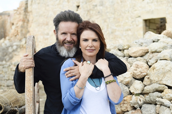executive producers Roma Downey and Mark Burnett