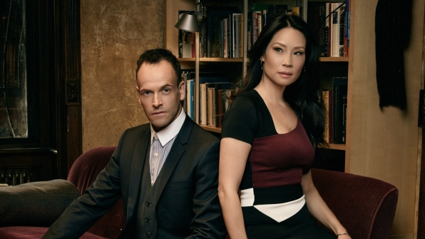 The brilliant duo from Elementary