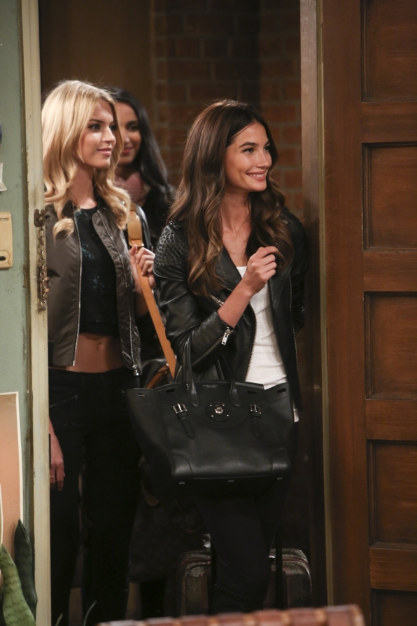 Martha Hunt and Lily Alridge guest star
