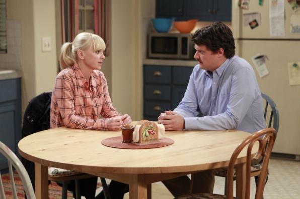 Christy talks to Baxter