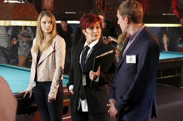 """Sharon Osbourne in """"Dead Rails"""" - CSI S15 E10"""