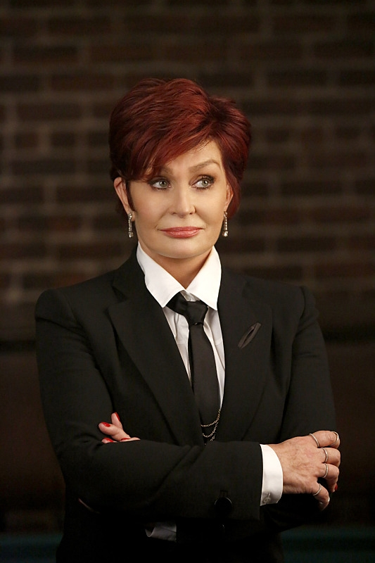 "Sharon Osbourne in ""Dead Rails"" - CSI S15 E10"