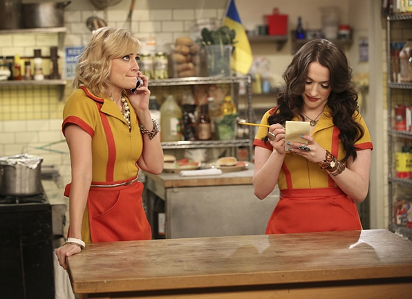Max and Caroline (2 Broke Girls)