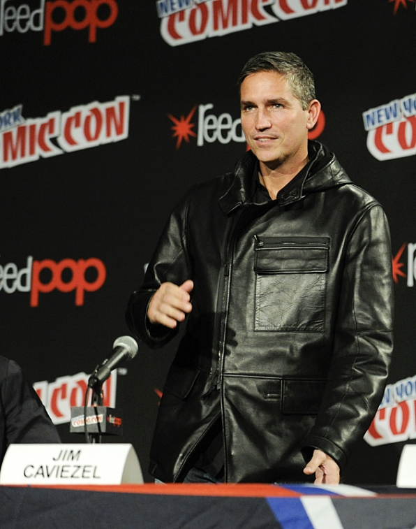 Jim Caviezel at New York Comic Con