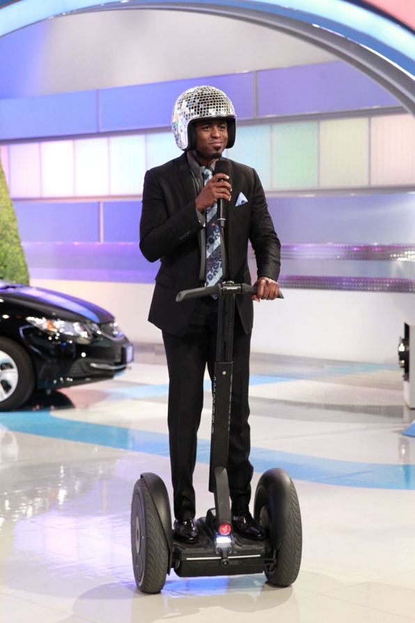 Wayne's way or Segway?