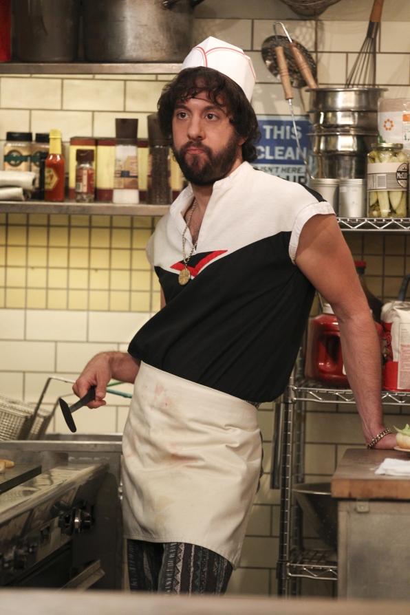 Oleg in the kitchen