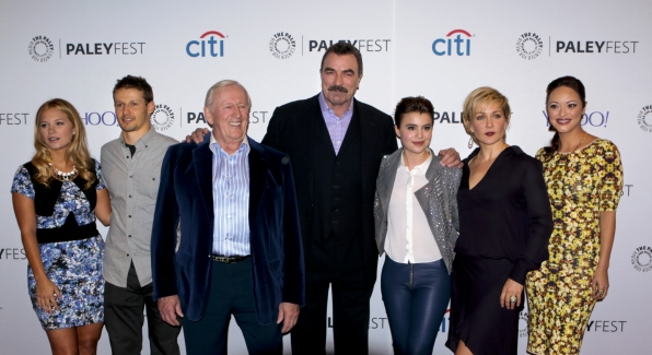 1. The Blue Bloods cast looks amazing together on the red carpet.