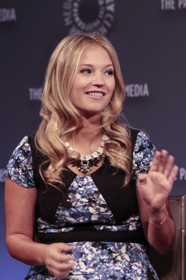 13. Vanessa Ray's excitement to interject.
