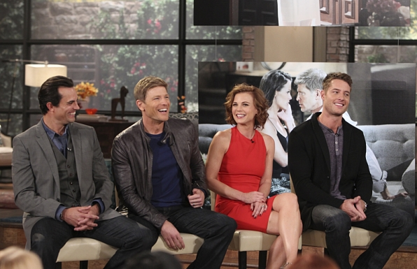 The cast of The Young and the Restless visit THE TALK