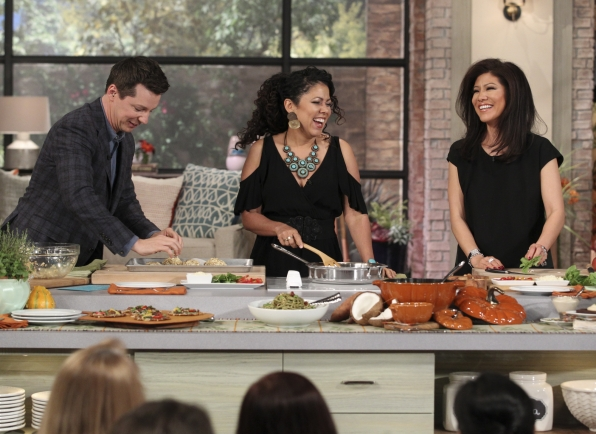10. Cooking healthy with Evette Rios.