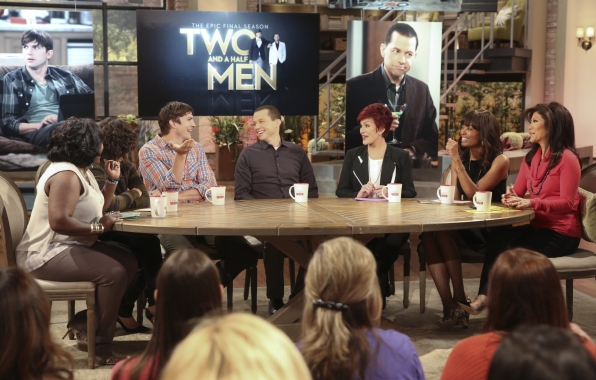"8. Dishing with the stars of ""Two and a Half Men."""