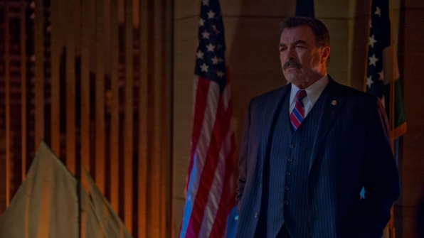 Police Commissioner Frank Reagan on Blue Bloods