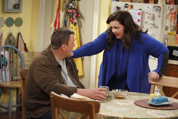 Mike and Molly have a chat